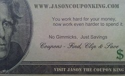 Jason the Coupon King