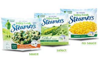 Coupons for steamers vegetables