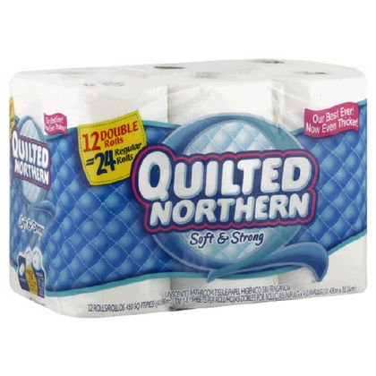 We're putting our money where our mouth is. If you aren't completely satisfied with Quilted Northern Ultra Soft & Strong ®, Quilted Northern Ultra Plush ® and Quilted Northern ® Eco-Comfort ™, we'll give you your money back! Click here for more details.