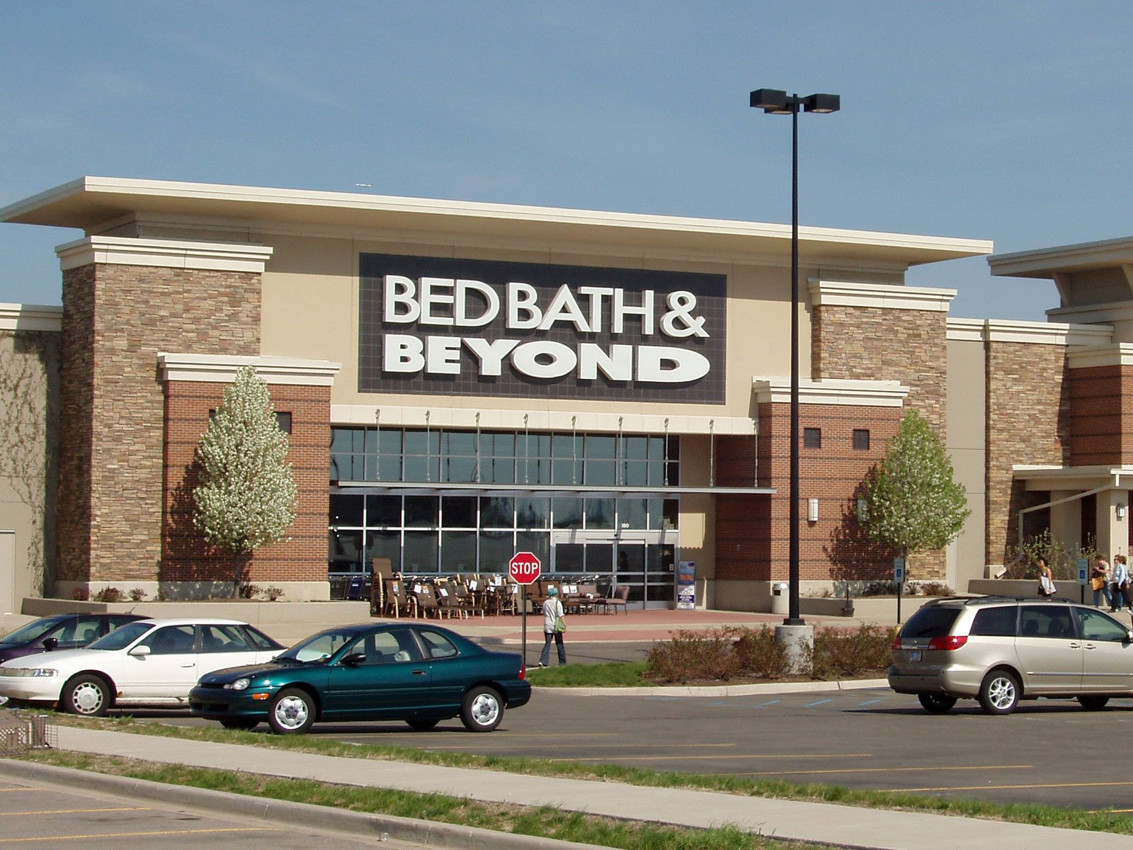 Bed Bath & Beyond Inc. is an American chain of domestic merchandise retail stores in the United States, Puerto Rico, Canada and Mexico. Founded in , the stores sell home goods primarily for the bedroom and bathroom, as well as kitchen and dining room.