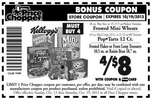 cereal bonus coupon