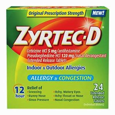 picture relating to Printable Zyrtec Coupon identify Zyrtec d discount codes printable - Beauty freebies united kingdom