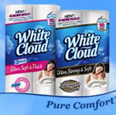 Printable coupons for white cloud toilet paper