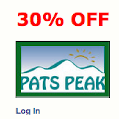 Pats peak coupons